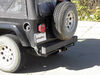 "Curt Trailer Hitch Receiver - Custom Fit - Class III - 2"" 4000 lbs GTW 13430 on 2006 Jeep Wrangler"