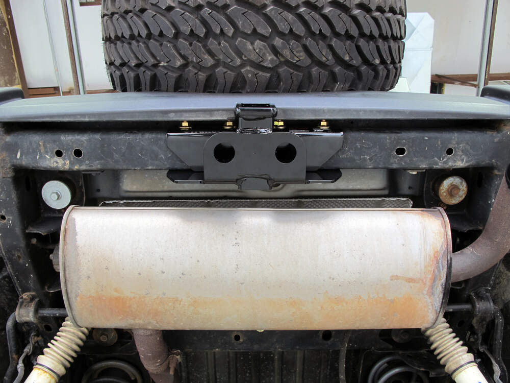 Trailer Hitch Installation 2007 Jeep Wrangler Unlimited ...
