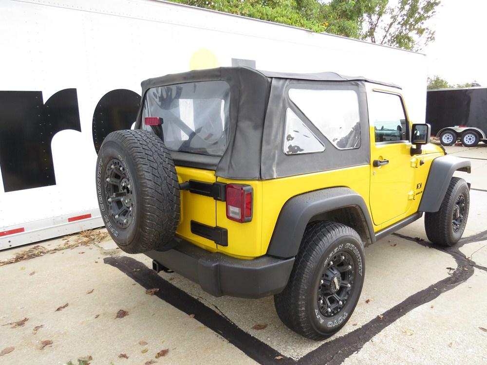 2012 Jeep Wrangler Trailer Hitch