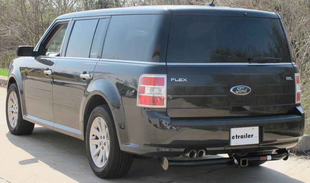 2011 ford flex curt trailer hitch receiver custom fit class iii 2. Black Bedroom Furniture Sets. Home Design Ideas