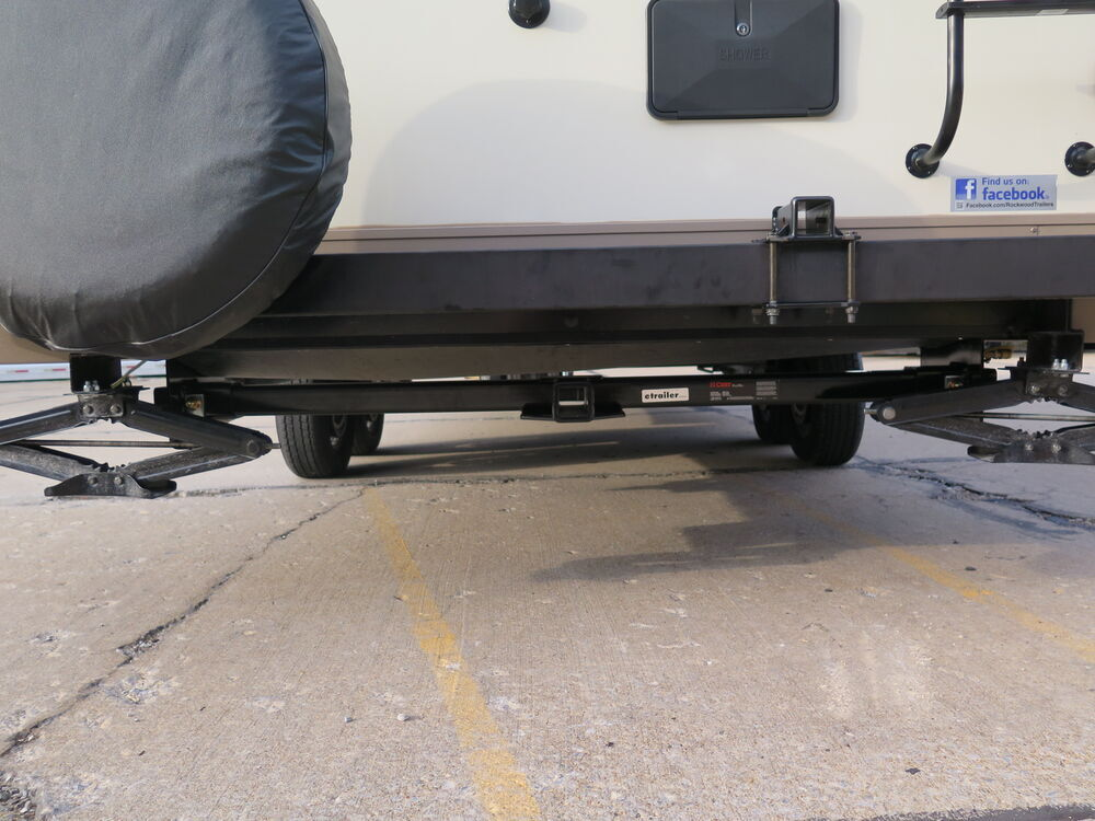 Adjustable Width Trailer Hitch Receiver for RVs, 22