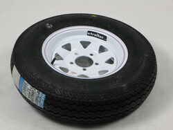 ST175/80-D13 Bias Ply Trailer Tire and Wheel, 5 on 4-1/2 Bolt Pattern