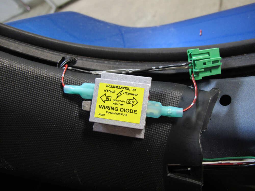 2009 Honda Fit Tow Bar Wiring