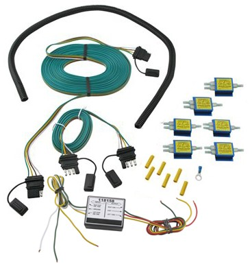 Roadmaster 6 diode universal wiring kit for towed vehicles with roadmaster 6 diode universal wiring kit for towed vehicles with separate lighting roadmaster tow bar wiring 154 792 118158 asfbconference2016 Choice Image