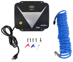 Tru-Flate Wall-Mounted Tire Inflator - 110 psi - 120 Volts