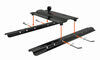 """Curt Above-Bed Gooseneck Trailer Hitch for Fifth Wheel Rails - 3"""" Offset - 25,000 lbs Fixed Ball - Offset 16055"""