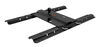 """Curt Above-Bed Gooseneck Trailer Hitch for Fifth Wheel Rails - 3"""" Offset - 25,000 lbs Fixed Ball 16055"""