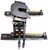 curt fifth wheel sliding 15 - 17 inch tall e16 5th trailer hitch w/ r16 roller slide bar jaw 16 000 lbs