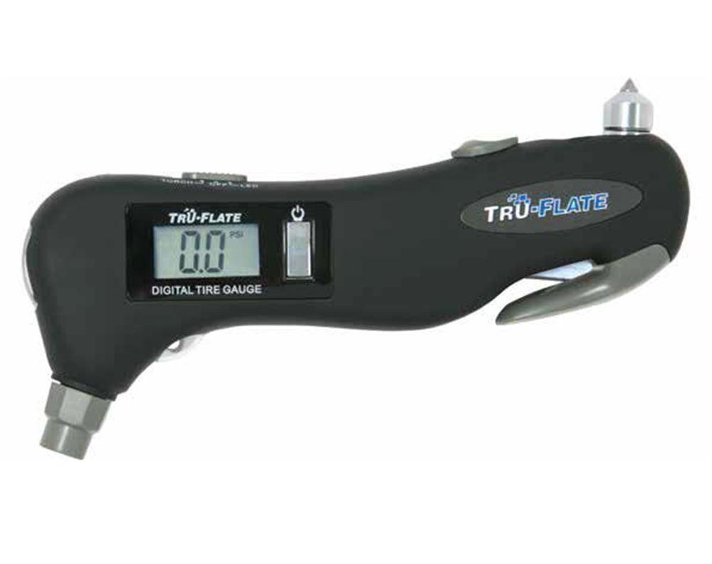 Tru Flate Emergency Multi Tool W Digital Tire Pressure