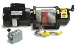 Superwinch AC2000 AC Powered Winch - Wire Rope - 2,000 lbs