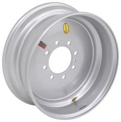 "Taskmaster Solid Center Wheel w/ -0.31 Offset - 17-1/2"" x 6-3/4"" Rim - 8 on 6-1/2 - Silver"