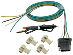 Tekonsha 2008 Ford F-250 and F-350 Super Duty Custom Fit Vehicle Wiring