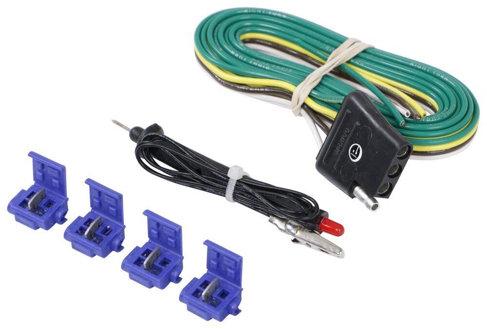 4-Pole Hardwire Kit with Circuit Tester Tekonsha Wiring 18252 on