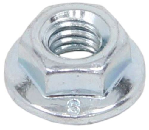 Zinc Plated Hex Flange Nut - M6