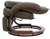 "Thomas Payne XL Euro RV Recliner Chair w/ Footrest - 24"" Seat Width - Brookwood Chestnut Gray 192-000052"