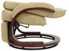 """Thomas Payne XL Euro RV Recliner Chair w/ Footrest - 24"""" Seat Width - Alternate Latte Wall Clearance Required 192-000053"""