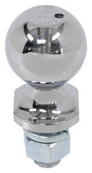 "Hitch Ball with 1-7/8"" Diameter and Short Shank, 2000 lbs GTW - Chrome"