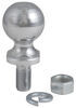 "Hitch Ball with 2"" Diameter and Short Shank, 3,500 lbs GTW - Chrome"