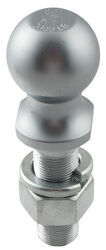 "1-7/8"" Hitch Ball - 1"" Diameter x 3-3/16"" Long Shank - Chrome - 2,000 lbs"