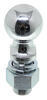 "2-5/16"" Hitch Ball - 1-1/4"" Diameter x 2-3/4"" Long Shank - Chrome - 12,000 lbs"