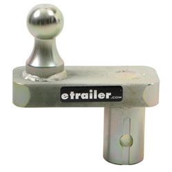 "Gooseneck Hitch Ball with 2-5/16"" Diameter and 5"" Offset"