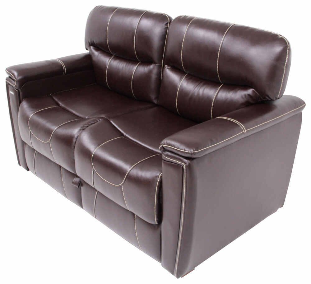 Thomas payne rv trifold sofa 60 long jaleco chocolate for Rv furniture