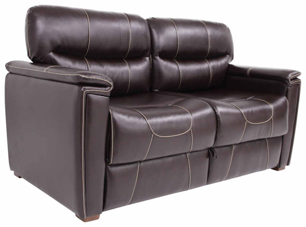 Thomas payne rv trifold sofa 68 long jaleco chocolate for Rv furniture
