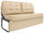 thomas payne rv furniture sofa wall clearance required jackknife with leg kit - 62 inch long pivot harvest