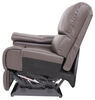 thomas payne accessories and parts rv couches chairs living room heritage right arm recliner - 29 inch wide majestic chocolate
