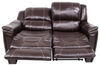 "Thomas Payne Heritage Dual Reclining RV Loveseat - 58"" Wide - Jaleco Chocolate Loveseat 195-000021-022"