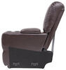 thomas payne accessories and parts rv couches chairs living room heritage recliner console - 8 inch wide jaleco chocolate