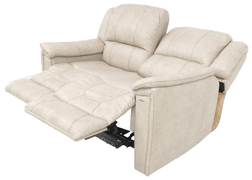 Thomas payne rv dual reclining sofa grantland doeskin for Rv furniture