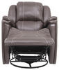 RV Couches and Chairs 195-000027 - Swivel Glider Recliner - Thomas Payne