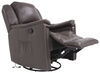 Thomas Payne Swivel Glider RV Recliner w/ Heated Seat, Footrest - Majestic Chocolate 41 Inch Tall 195-000027