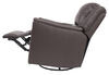 Thomas Payne Swivel Glider RV Recliner w/ Heated Seat, Footrest - Majestic Chocolate Wall Clearance Required 195-000027
