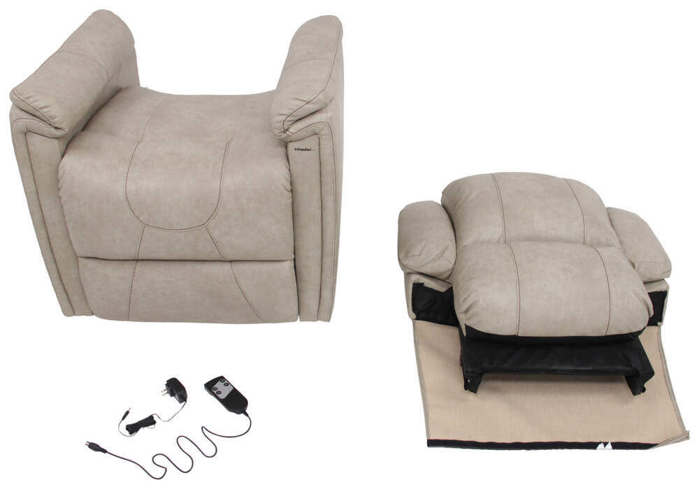 Rv Chairs Recliners >> Thomas Payne Swivel Glider RV Recliner w/ Heated Seat ...