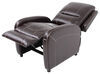 "Thomas Payne Pushback RV Recliner w/ Footrest - 27"" Wide - Jaleco Chocolate Brown 195-000030"