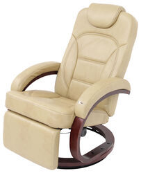 "Thomas Payne RV Euro Recliner Chair w/ Footrest - 20"" Seat Width - Alternate Latte"