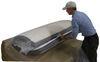 denver mattress rv three quarter rest easy plush - 75 inch long x 48 wide