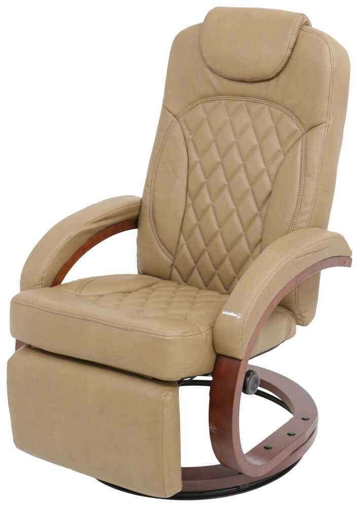 "Thomas Payne Euro RV Recliner Chair w/ Footrest - 20"" Seat Width - Oxford Tan 41-1/2 Inch Tall 195-000061"