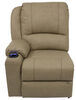 Thomas Payne Seismic Right Arm Power RV Recliner w/ Heat, Massage, LED Lights - Grantland Doeskin Right Arm Recliner 195-000090