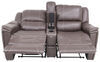 "Thomas Payne Heritage Dual Reclining RV Loveseat w/ Console - 66"" Wide - Majestic Chocolate 66 Inch Wide 195-018-019-020"