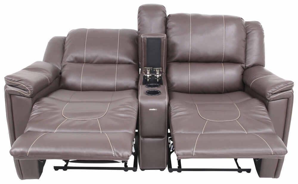 thomas payne rv dual reclining sofa w center console majestic chocolate thomas payne rv. Black Bedroom Furniture Sets. Home Design Ideas