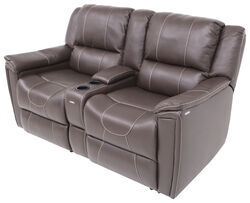 Thomas Payne RV Dual Reclining Sofa W/ Center Console   Majestic Chocolate
