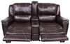 "Thomas Payne Heritage Dual Reclining RV Loveseat w/ Console - 66"" Wide - Jaleco Chocolate Wall Clearance Required 195-021-022-023"