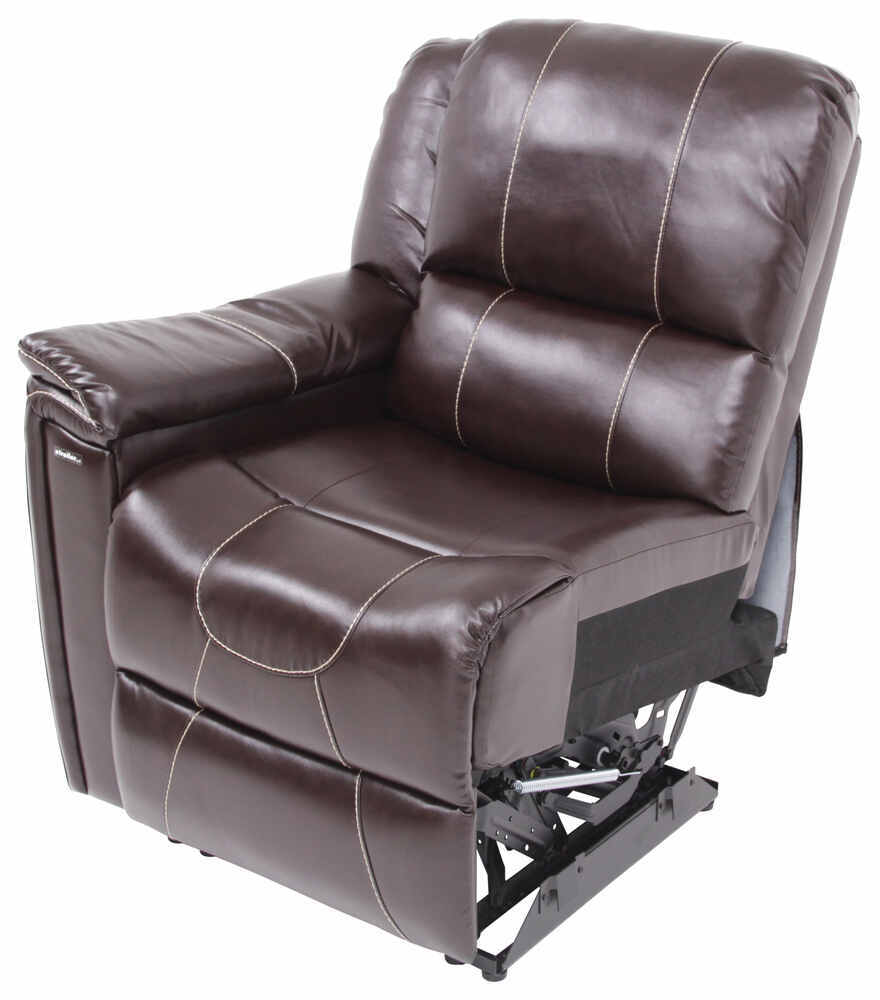 Thomas payne rv dual reclining sofa w center console jaleco chocolate thomas payne rv Reclining loveseat with center console