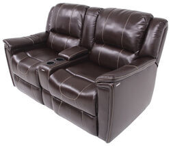 Thomas Payne RV Dual Reclining Sofa w/ Center Console - Jaleco Chocolate
