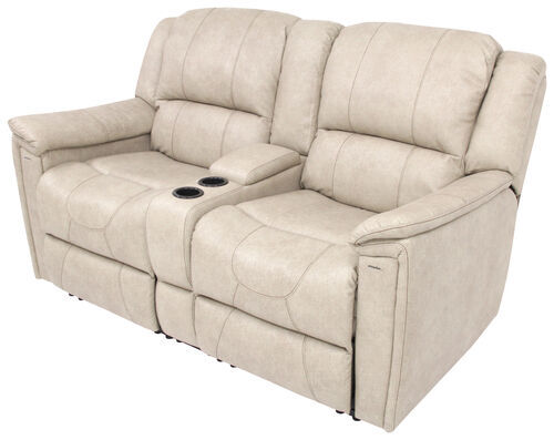 Thomas Payne RV Dual Reclining Sofa W/ Center Console   Grantland Doeskin