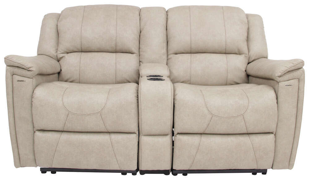 Thomas Payne Rv Dual Reclining Sofa W Center Console Grantland Doeskin Thomas Payne Rv