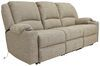 Thomas Payne Seismic Triple Power Reclining RV Couch w/ Heat, Massage, LEDs, USB - Cobble Creek Couch 195-100-099-098